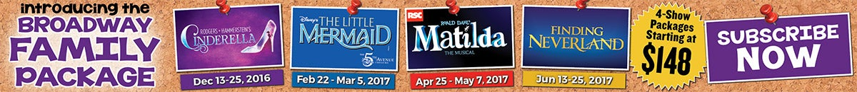 Broadway in Fort Lauderdale | 4-Show Family Package