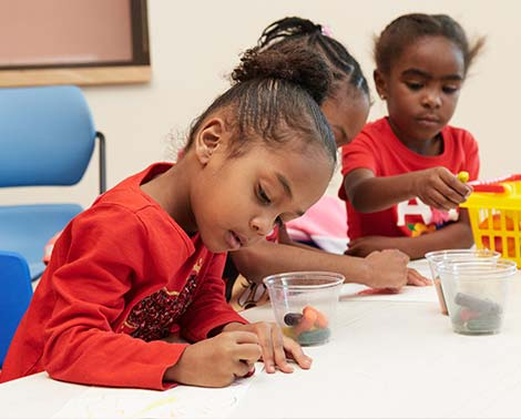 Education program for kids at the Broward Center