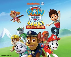 More Info for PAW Patrol Live! Race to the Rescue