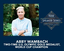 More Info for NEW DATE - Broward College Speaker Series: Abby Wambach