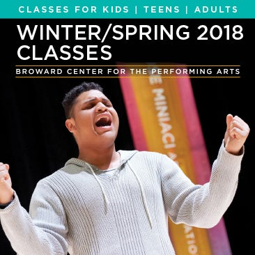 CLASSES ON SALE NOW AND BEGIN JAN 16, 2018
