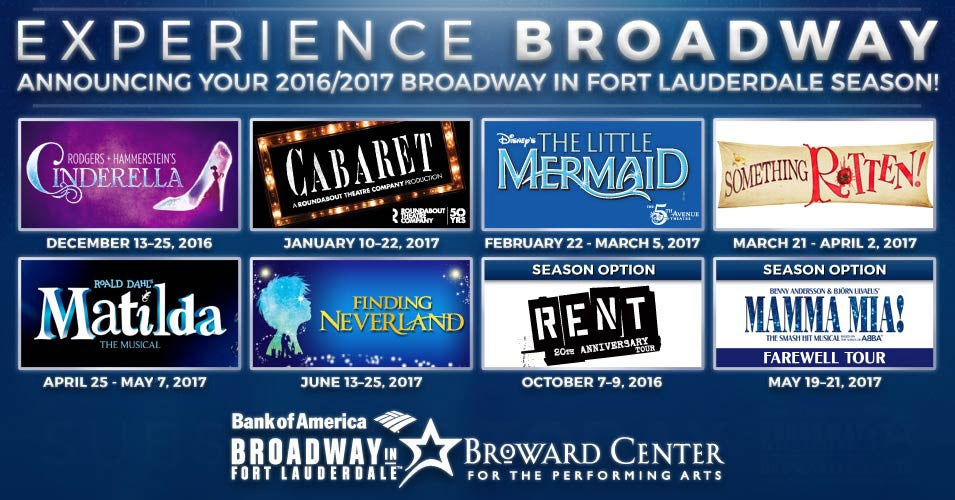 Image result for matilda and neverland banner for the broward center for the performing arts