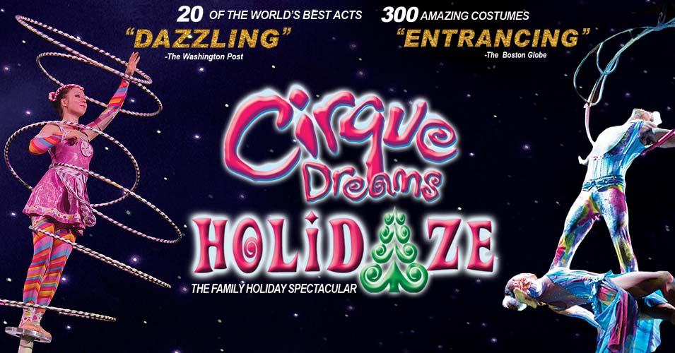 Image result for cirque dreams holidaze
