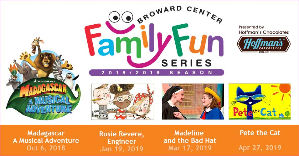 Subscriptions 20182019 Family Fun Series Broward Center For
