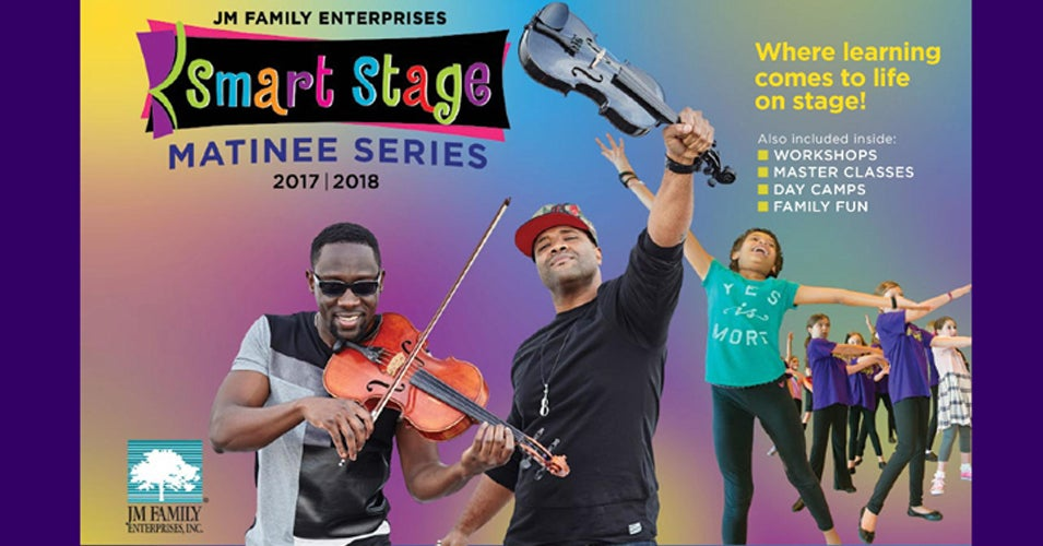 Slide Image - Click here for Smart Stage Matinee Series 2017-2018 Online Brochure