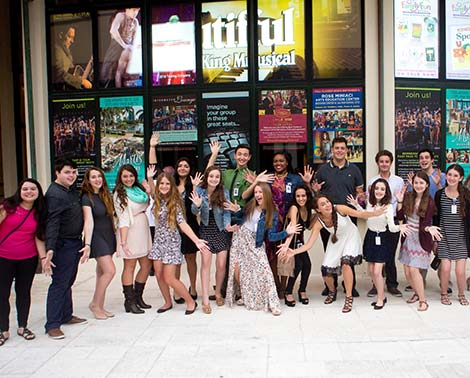 Teen ambassador program at the Broward Center