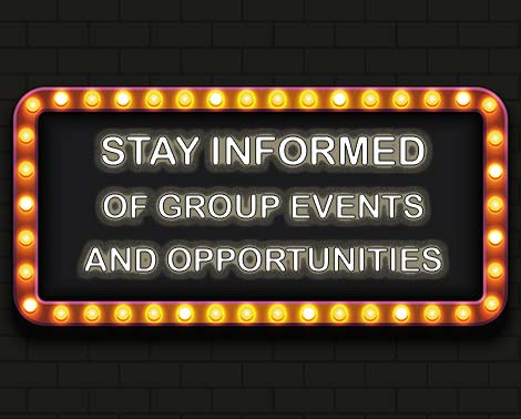 Group Tickets Newsletter