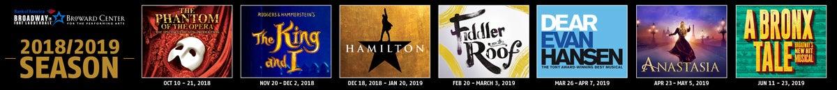 Broadway 2018/2019 Season