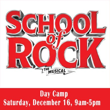 SCHOOL OF ROCK DAY CAMP