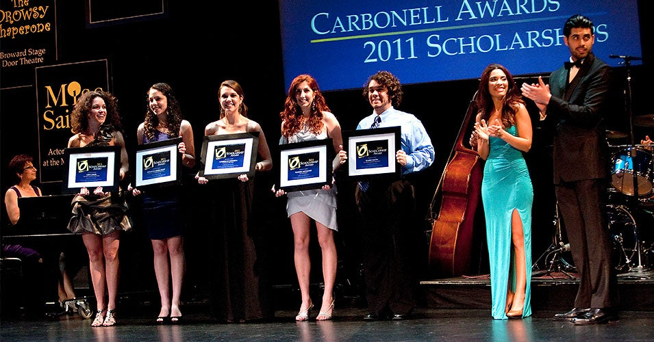 Slide Image - Annual Carbonell Awards