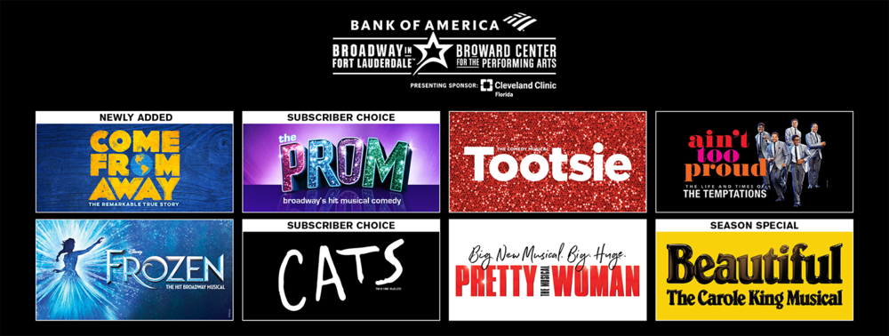 More Info - BROADWAY IS BACK - SUBSCRIBE TODAY!