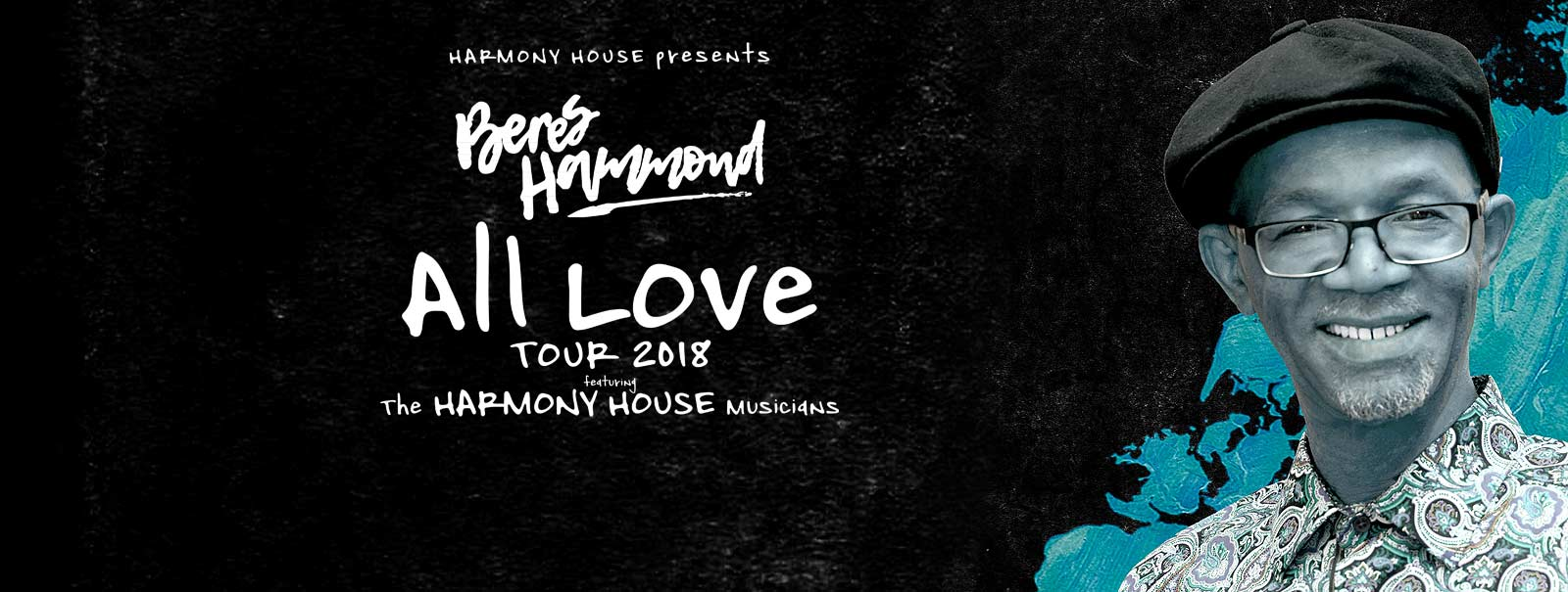 More Info - Beres Hammond: All Love Tour 2018
