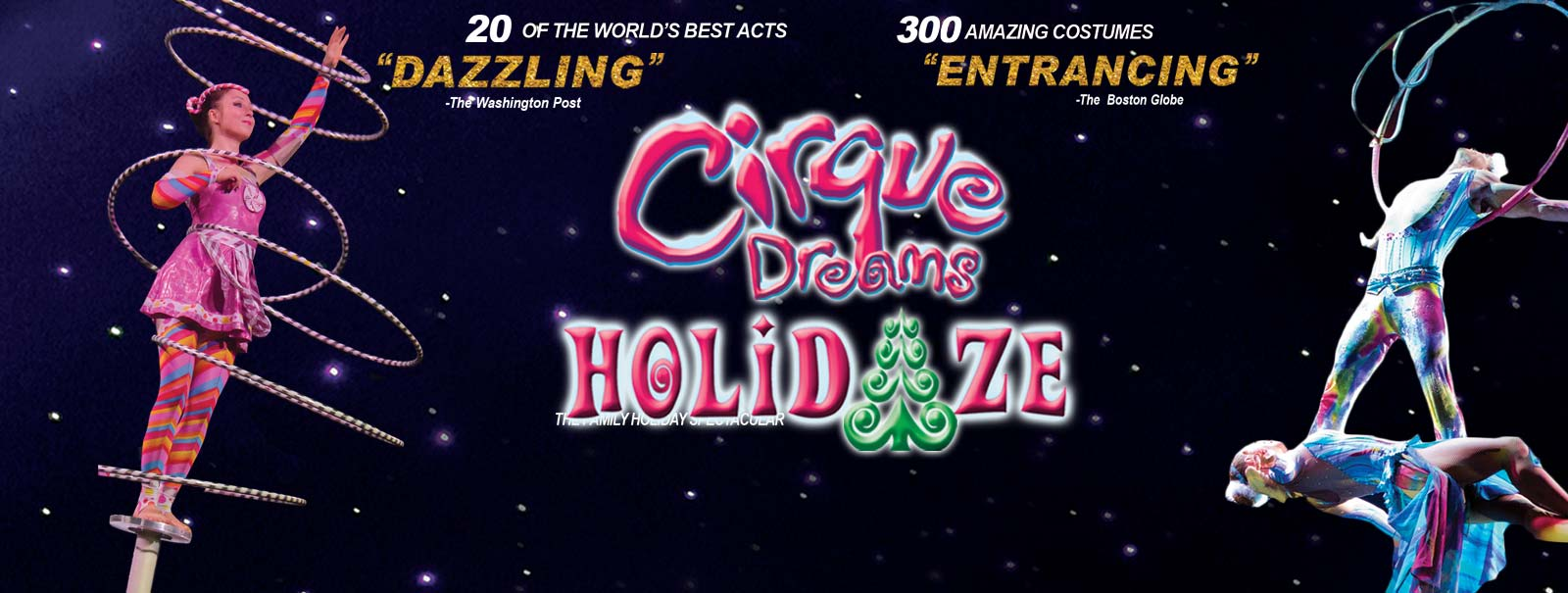 More Info - Cirque Dreams Holidaze