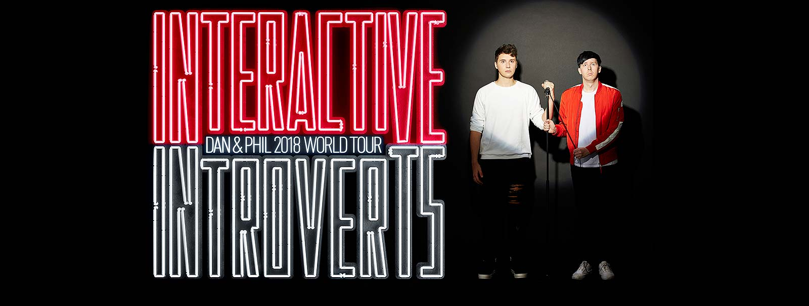 More Info - Dan and Phil 2018 World Tour — Interactive Introverts