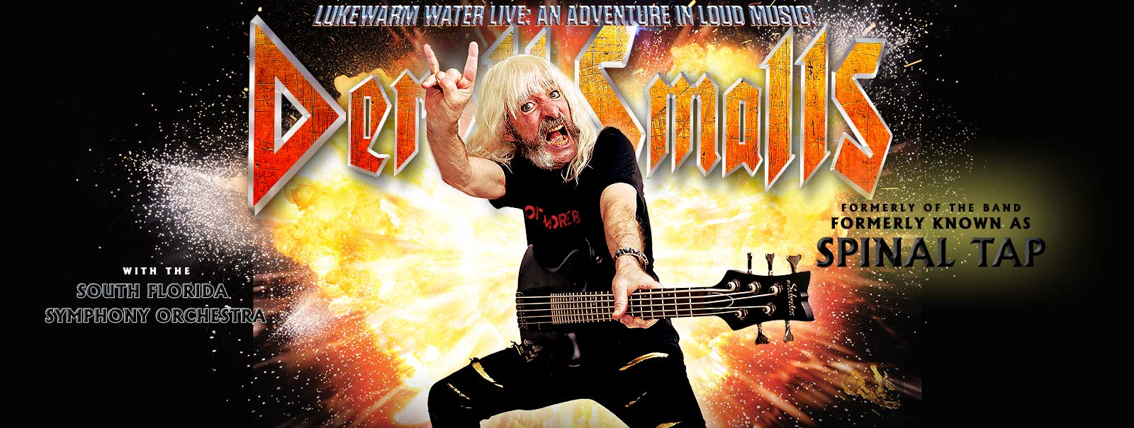 More Info - Derek Smalls with Symphony - Lukewarm Water Live