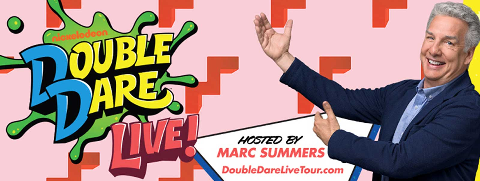 More Info - Double Dare LIVE! hosted by Marc Summers