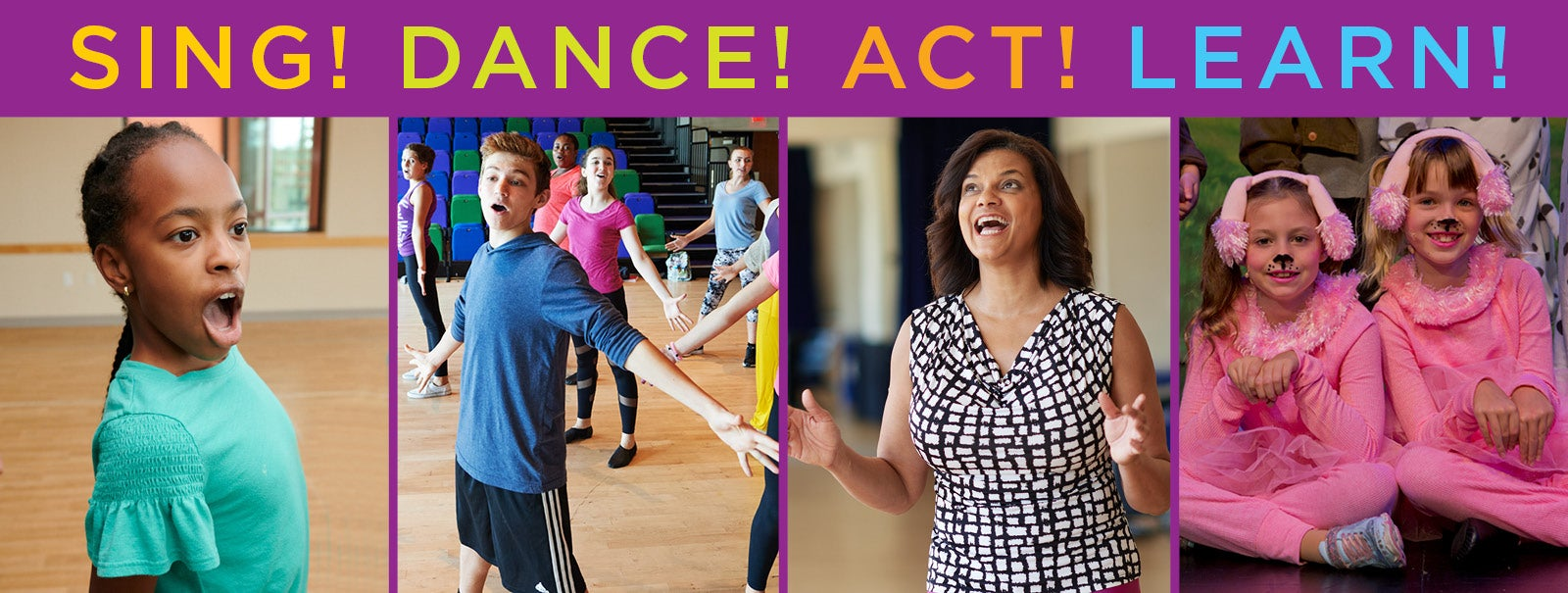 More Info - TAKE A THEATER CLASS! REGISTER NOW!