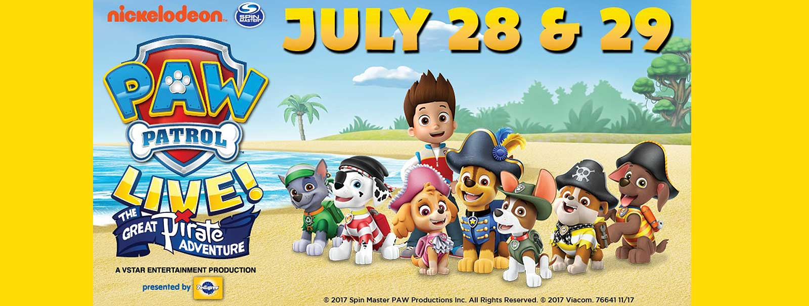 More Info - PAW Patrol Live! The Great Pirate Adventure