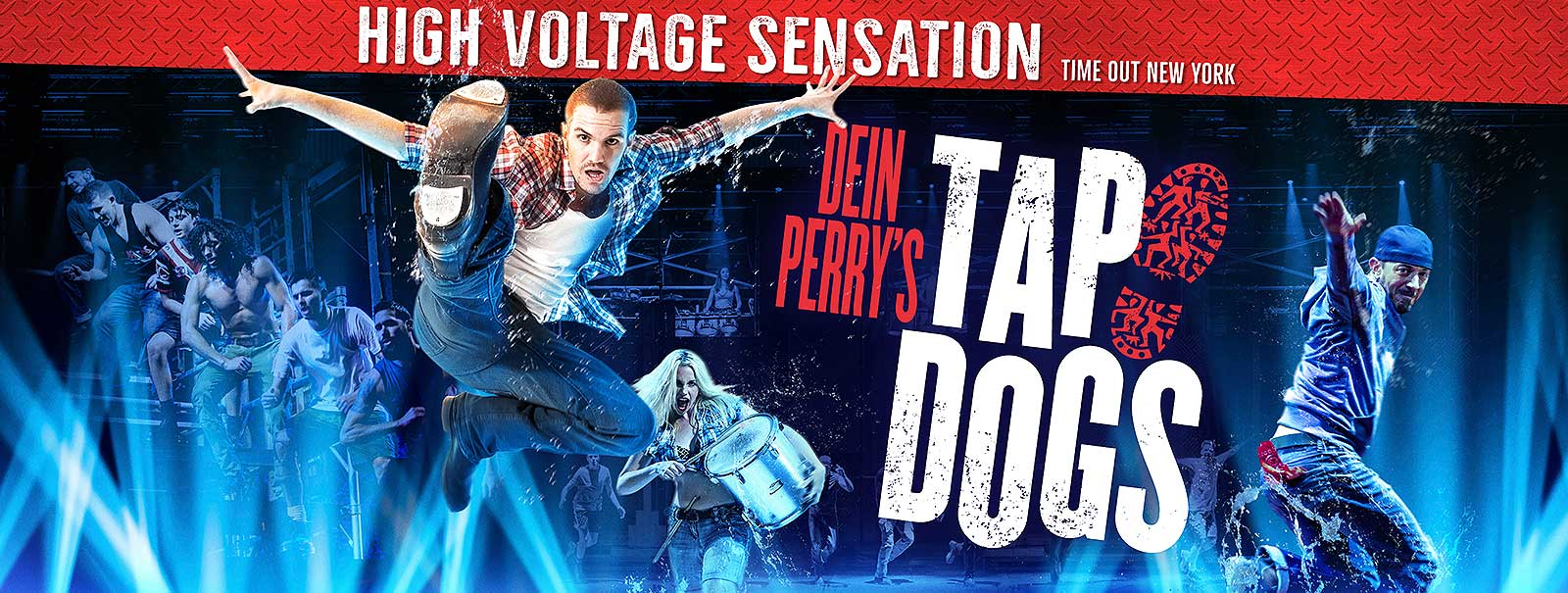 More Info - Dein Perry's TAP DOGS