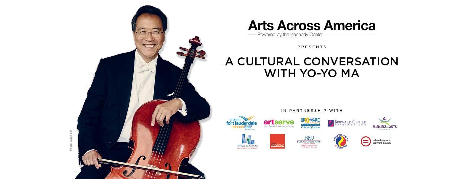 More Info - A Cultural Conversation with Yo-Yo Ma