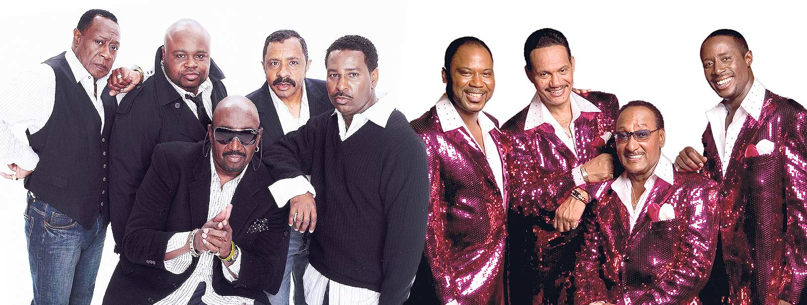 More Info - The Temptations and The Four Tops