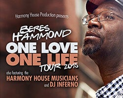 More Info for Summer Heats Up with Soulful Crooner Beres Hammond, The Harmony House Musicians and DJ Inferno at the Broward Center