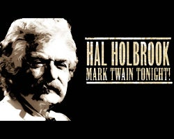 CANCELLED—Hal Holbrook in Mark Twain Tonight!