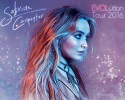 More Info for Radio Disney Chart-Topper Sabrina Carpenter Changes Concert Date At Parker Playhouse