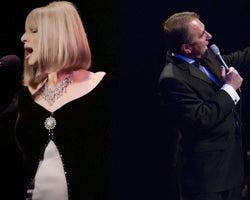 Streisand and Sinatra
