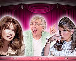 More Info for Three Hysterical Broads...Off their Medication