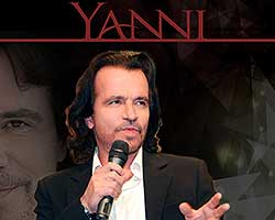 More Info for AN EVENING IN CONVERSATION WITH YANNI COMES TO PARKER PLAYHOUSE