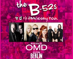 More Info for THE B-52s GEAR UP FOR 40TH ANNIVERSARY WORLD TOUR