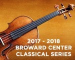 2017-2018 Broward Center Classical Series   James Judd, curator