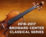 2016-2017 Broward Center Classical Series | James Judd, curator