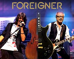 Foreigner Performing with Full Band and a Rock Orchestra