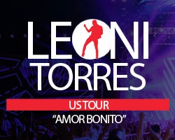 More Info for LEONI TORRES AMOR BONITO U.S. TOUR COMES TO OUR STAGE