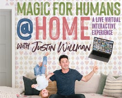More Info for MAGIC FOR HUMANS (at HOME) with Justin Willman