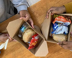 More Info for A TIME TO SHARE: LUNCH IS SERVED TO THOSE IN NEED