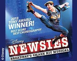 More Info for Casting Announced for Disney's NEWSIES Broadway's Tony® Award-Winning Smash Musical