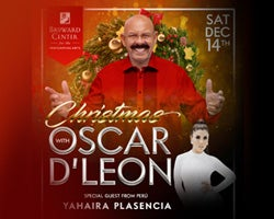 More Info for Christmas with Oscar D'Leon