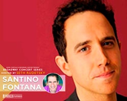 More Info for NEW DATE - Santino Fontana with Seth Rudetsky