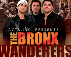 More Info for The Bronx Wanderers Persent Three Intimate Shows at the Broward Center for the Performing Arts